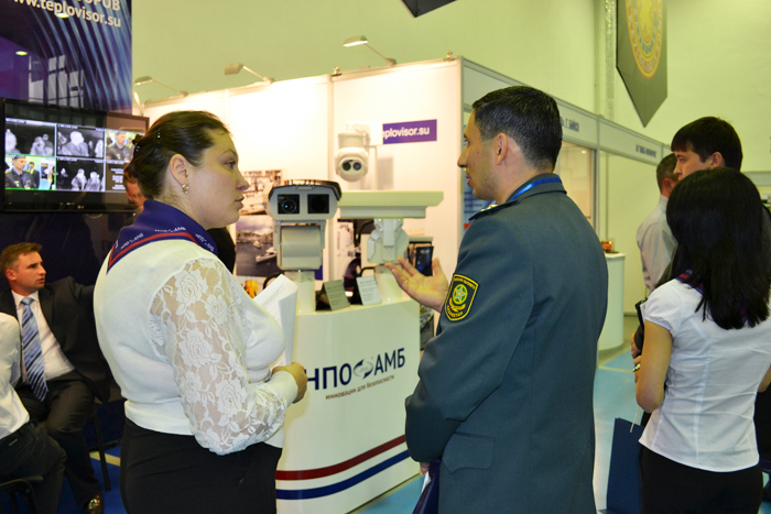 "НПО АМБ на ""Kazakhstan Security Systems-2013"""